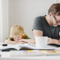 Corona Homeschooling ist schwer